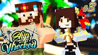 WE GOT OFF THE ISLAND? | Minecraft Ship-Wrecked Ep.3
