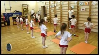 Занятие по физической культуре в старшей  группе ДОО