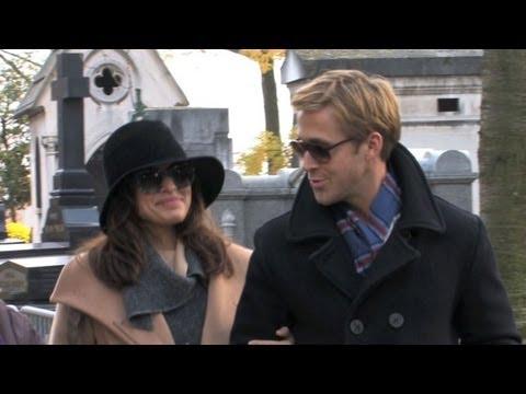 See Ryan Gosling and Eva Mendes's Romantic Day Date in Paris!
