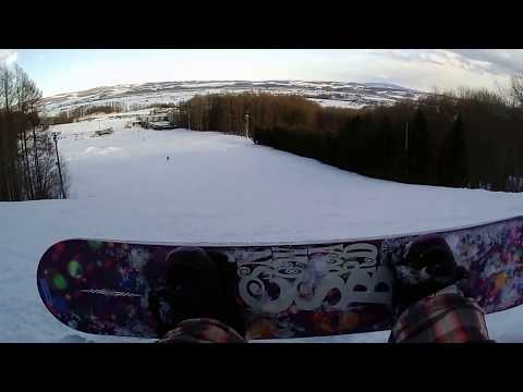 Snowboarding in Northern Arc Resort II