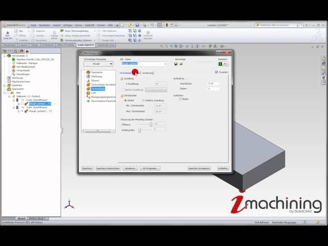 iMachining optimal eingesetzt - Teil 3