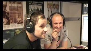 Die Donots bei delta radio am Nachmittag