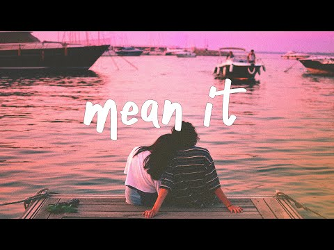 Lauv & LANY - Mean It (stripped) Lyric Video
