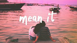 Lauv & Lany - Mean It  Stripped  Lyric Video