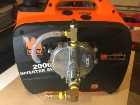 Tri Fuel Generator Conversion - Natural Gas or Propane