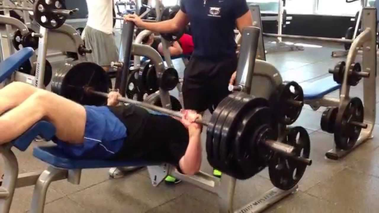 Charming Heavy Bench Press Videos Part - 2: IMG 1190 Heavy Lifting - 400 X 1 Decline Bench Press