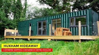 Huxham Hideaway: Shipping Container Airbnb In Exeter, Uk