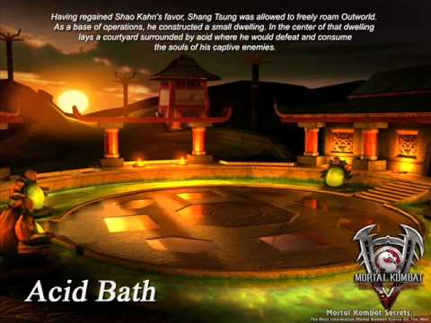 Mortal Kombat Deadly Alliance  Acid Bath & Portal