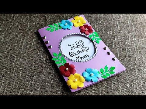 Diy How To Make Special Birthday Card Beautiful Handmade Birthday Card For Mom Gift Idea Youtube