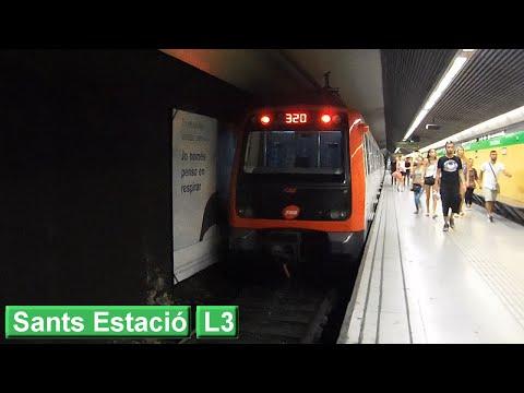 Metro de Barcelona: Sants Estació L3 (TMB 3000 - 5000)