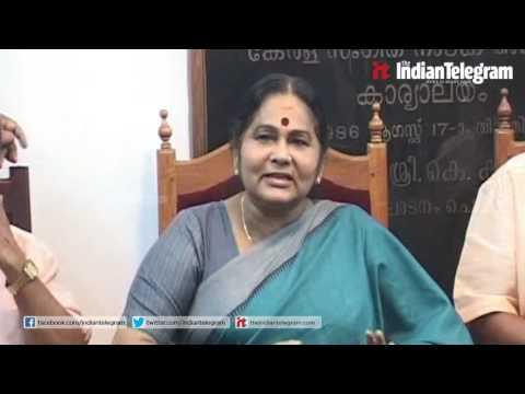 KPAC Lalitha  new chairperson of Kerala Sangeetha Nataka Akademi