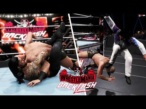 Download WWE 2K20 SIMULATION: Roman Reigns vs Cesaro   WrestleMania Backlash 2021, Highlights