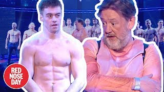 Johnny Vegas gatecrashes Magic Mike Live 2019 | Comic Relief