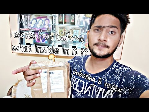 Today i received a courier from California what inside in it????? Unboxing & review must watch