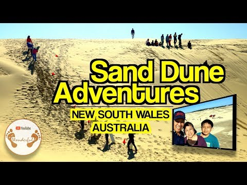 Wanderful: Sand Dune Adventures Down Under  | Hunter Region, New South Wales | Australia