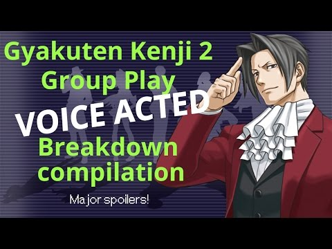 Gyakuten Kenji 2 Group Play Highlight - Breakdown compilation (MAJOR SPOILERS)