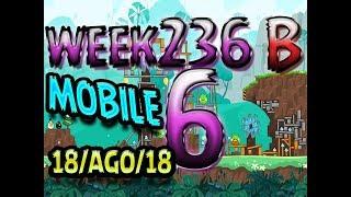 Angry Birds Friends Tournament Level 6 Week 326-B  MOBILE Highscore POWER-UP walkthrough