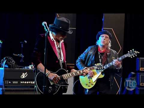 2017 TEC Awards Joe Perry and the Hollywood Vampires Perform Combination