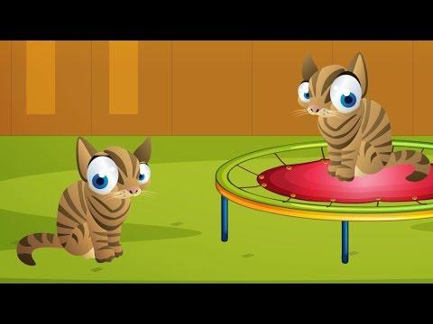 10 Küçük Kedicik - Saymayı Öğreniyoruz - Çocuk Şarkısı