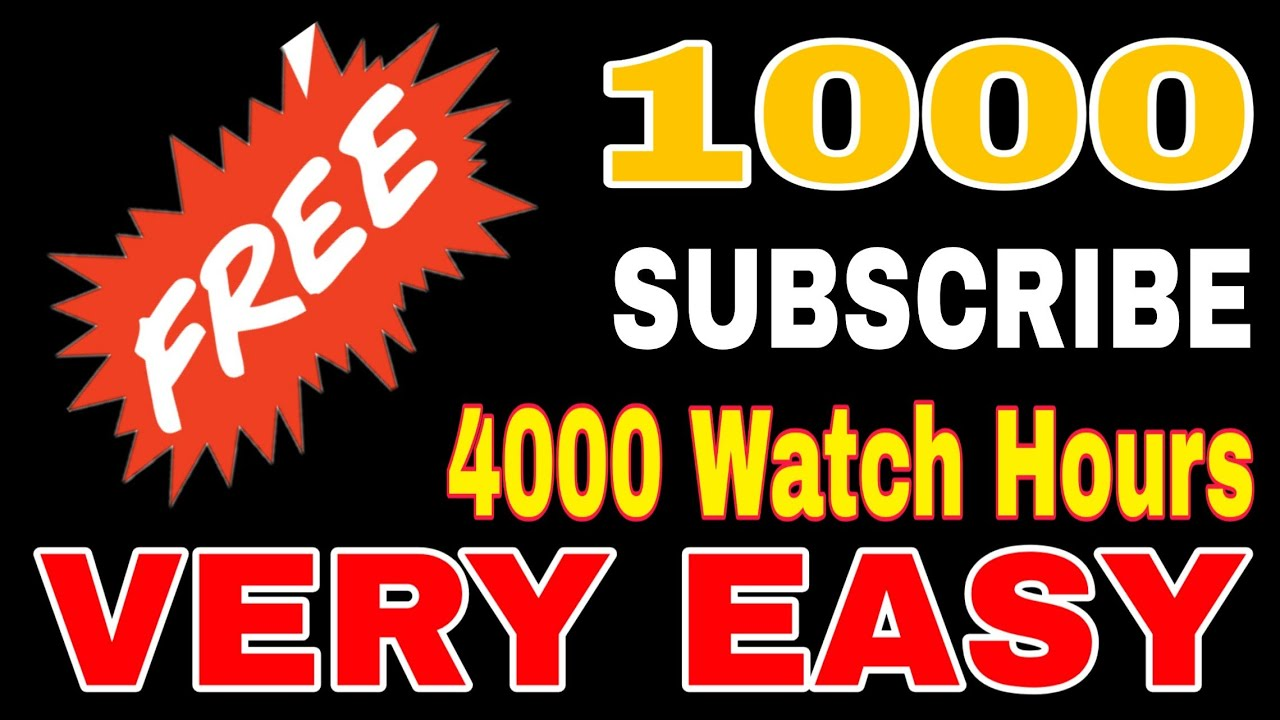 1000 Subscribe And 4000 Watch Hour/Free Promote/ Youtube Channel In Malayalam/ Shihab Kottakkal