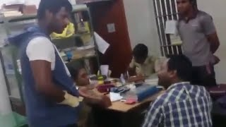 Actor Vishal fights in police station - Thiruttuvcd problem