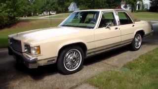 1985 Mercury Grand Marquis LS 4 Door 302 V8 Classic Youngtimer