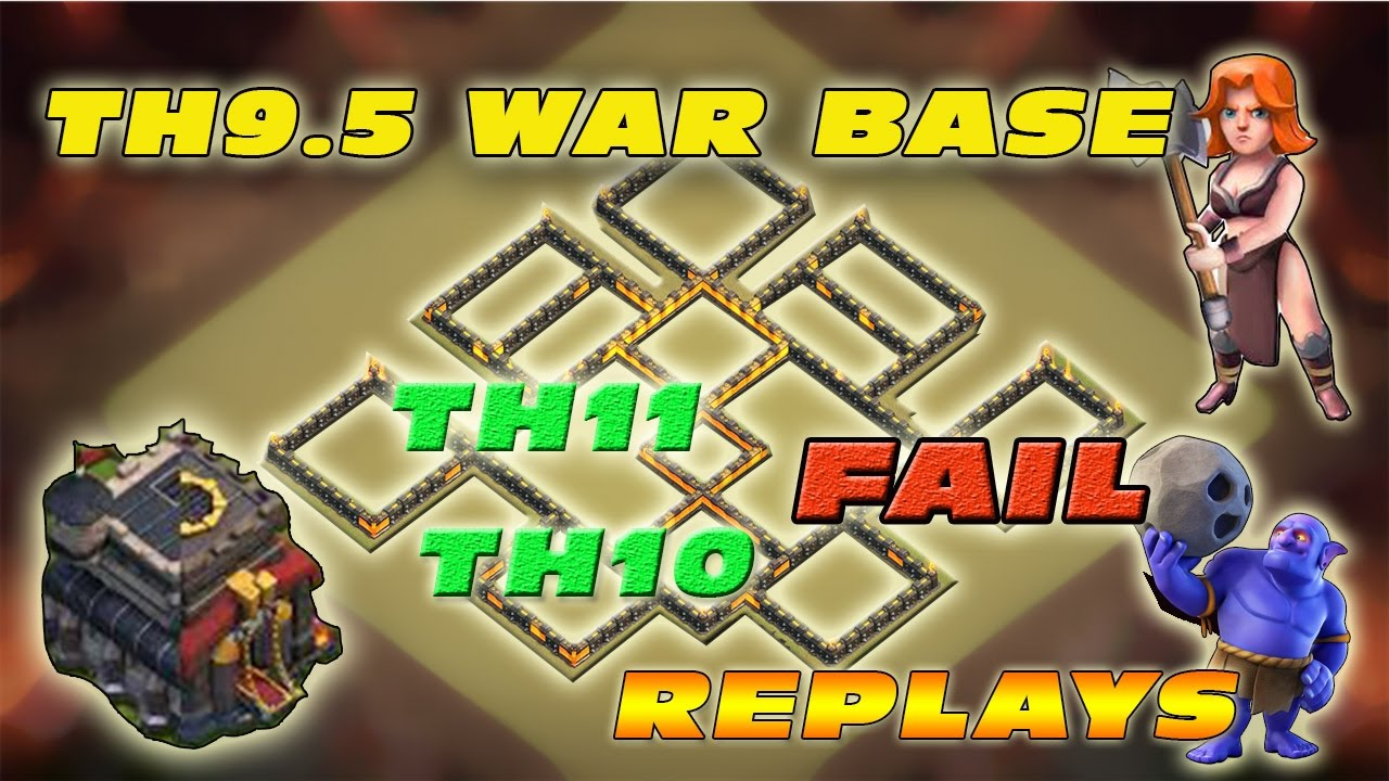 Top 5 Th 9 War Base 2