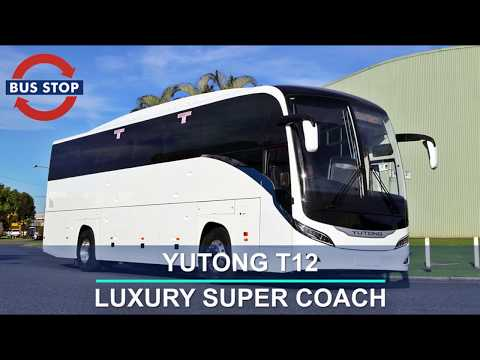 Yutong T12 Luxury Coach From Bus Stop Sales Australia