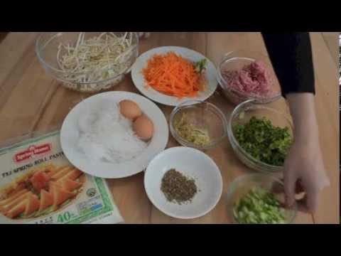 Thai Food Recipes: Thai Spring Rolls