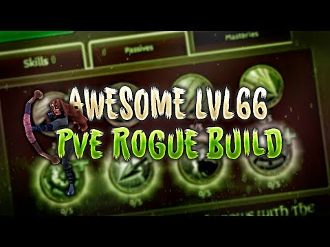 Arcane Legends - L66 Rogue PvE Build
