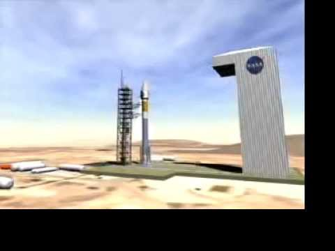 Terra satellite launch & deploy (Remake from 2006)