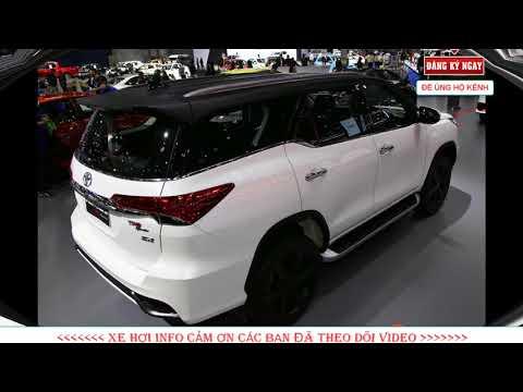Toyota Fortuner TRD Sportivo 2018 bản máy dầu vừa ra mắt tại ThaiLand Motor Show