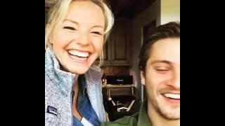 Eloise Mumford and Luke Grimes - Instagram video