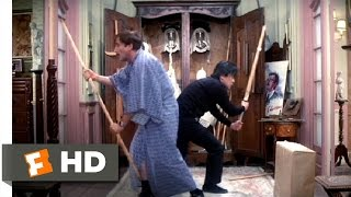 The Pink Panther Strikes Again (1/12) Movie CLIP - Cato Attacks (1976) HD