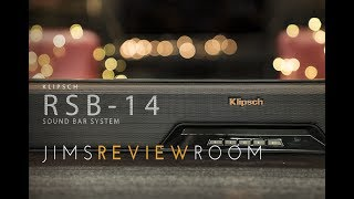 Klipsch RSB-14 Playfi Sound Bar - REVIEW