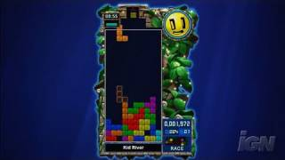 Tetris Evolution Xbox 360 Gameplay - Race Mode