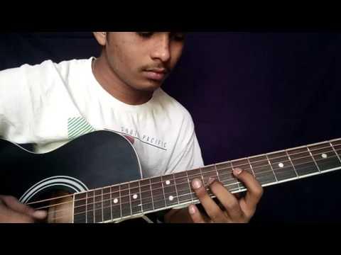 Nanna | deiva thirumagal | chiyan vikram | gv prakash | movie BGM guitar notes by Vivek Thirunahari