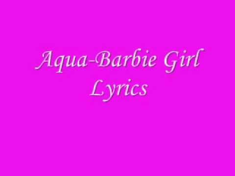Aqua-Barbie Girl Lyrics