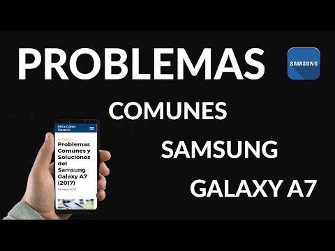 Problemas Comunes y Soluciones del Samsung Galaxy A7 (2017)