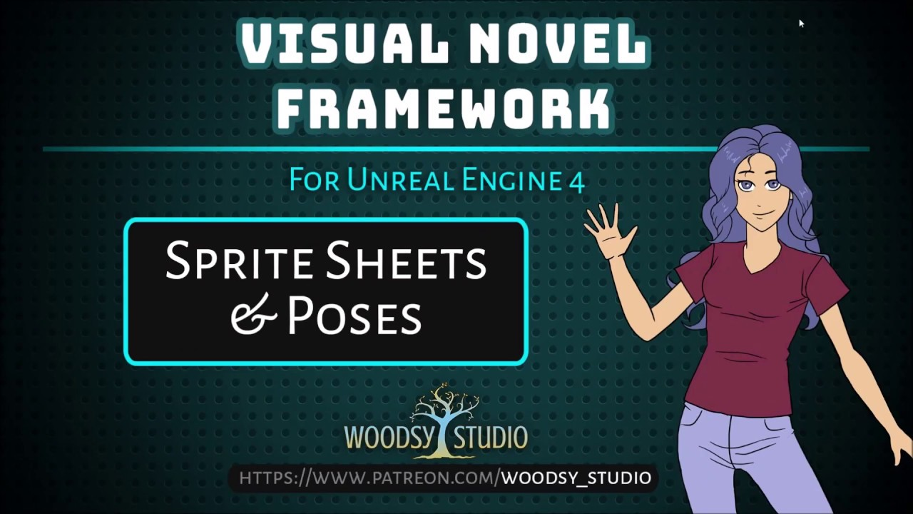 Creating Sprites Sheets in UE4 and Setting Poses
