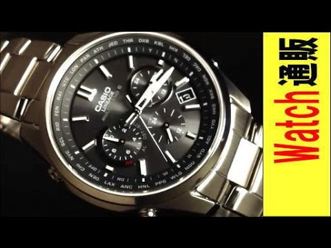 cb8759f3eb CASIO LINEAGE カシオ リニエージ ソーラー電波腕時計 LIW-M610TDS-1AJF - YouTube
