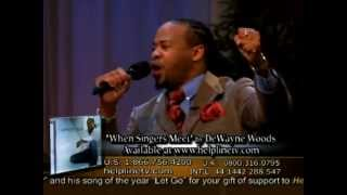 "Christian Artist DeWayne Woods sings ""Let Go and Let God!"" on Helpline!"