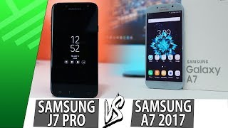 Samsung J7 PRO VS Samsung A7 2017 | Enfrentamiento | Review | Unboxing