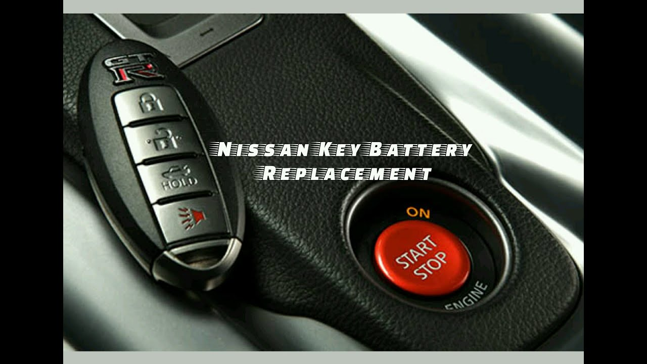 nissan key battery replacement youtube. Black Bedroom Furniture Sets. Home Design Ideas