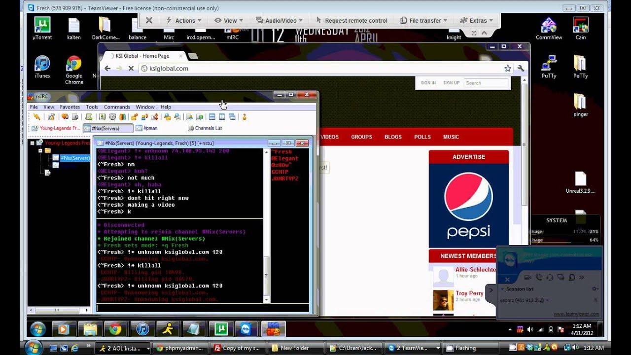Fresh's IRC Server