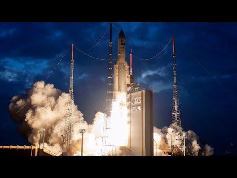 LIVE Arianespace Ariane 5 ES VA240 Rocket Launching Galileo 19-22 Navigation Satellites