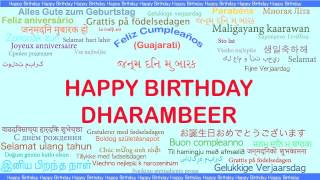 Dharambeer   Languages Idiomas - Happy Birthday