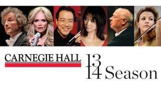 Experience Carnegie Hall 2013-2014