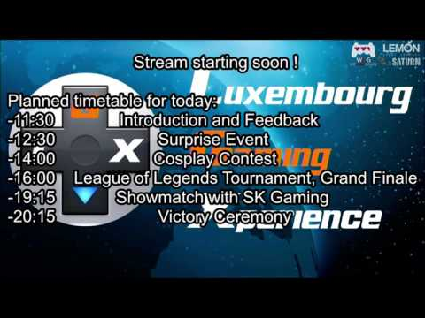 Luxembourg Gaming Experience Stream Replay ♯2