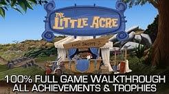 The Little Acre - 100% Full Game Walkthrough - All Achievements/Trophies Speedrun